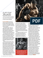"""Flip That Switch! Let's Get Anabolic!"" by Pete Ciccone MS&F"