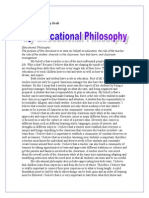 stacy hull educational philosophy draft