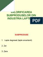 SUBPRODUSE DIN INDUSTRIA LAPTELUI -1.ppt