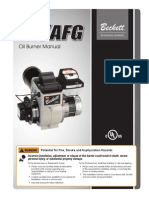 6104BAFG Oil Burner Manual
