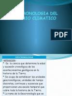 Geocronologia Del Cambio Climatico