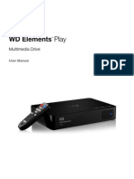Manual WD Elements™ Play Multimedia Drive