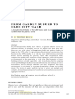 From Garden Suburb to Olde City Ward, Thomas Rosin