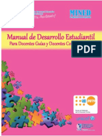 Manual Desarrollo Personal MINED