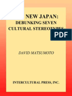 David Matsumoto the New Japan Debunking Seven Cultural Stereotypes 2007