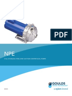 Goulds Centrifugal Pumps