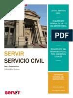 Ley y Reglamentos de la Ley del Servicio Civil