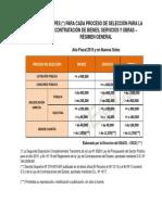 Topes Por Contrata Con El Estado 2015