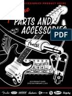Fender Accessories Product Guide 2015