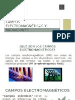 Radiaciones y Campos Electromagnéticos