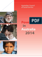 ACOSS Poverty in Australia 2014