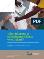 What Happens to Microfinance Clients Who Default