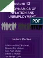 12. Infl. & Unemployment