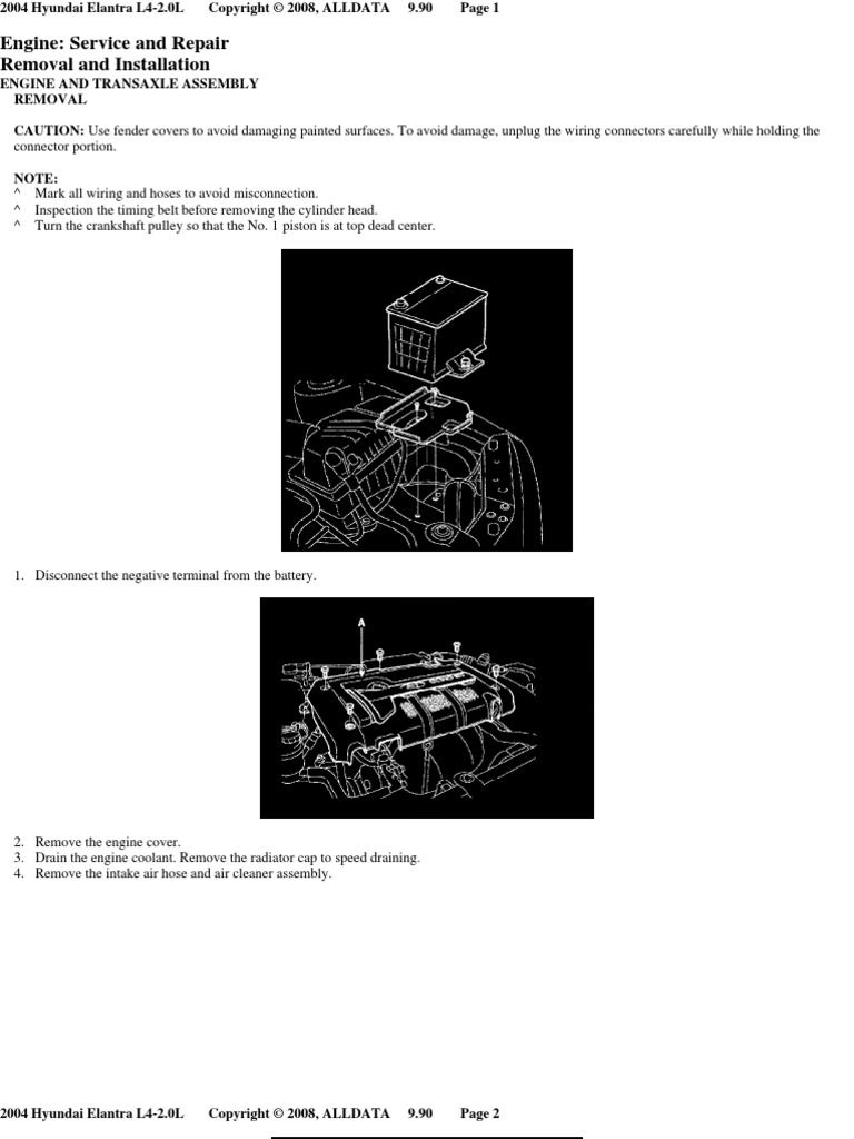 Engine Removal | Throttle | Internal Combustion Engine