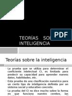 Teoria Sobre Al Inteligencia