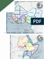 africa maps key