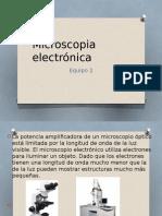 Expo Microscopia Electrónica Analisis