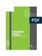 Software & IT Service Catalog 2011