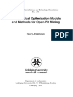 Pit Optimization Thesis