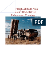 (THAAD) Five Failures and Counting