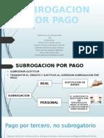Subrogacion Por Pago
