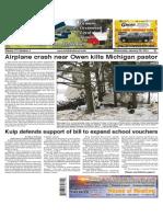 Tribune Record Gleaner January 28, 2015