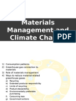 Materials Maanagement and Climate Change Presentation