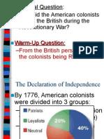 4 american revolution