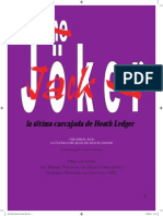 The Jöker Jack La Última Carcajada de Heath Ledger -Javier Márquez (1)