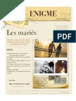 Enigmas en francés Les Maries