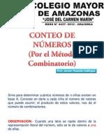 Conteo de Numeros(Métodod Combinatorio)