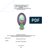 Evaluación de La Calidad de Las Aguas Del Río Katari, La Paz, Bolivia, Mediante Un Modelo Matemático