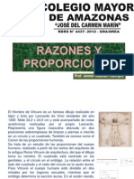 Razones y Proporciones(I)