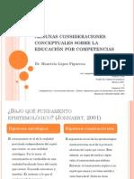 Consideraciones Pedagogicas y Didacticas Del Enfoque Competencias