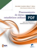 Libro Procesamiento de Datos y Análisis Estadístico