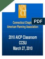 2010 AICP Classroom Presentation