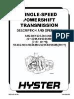 Transmissão XM HYSTER