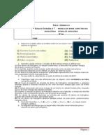 FTQ7 -Preparaçao Teste 2