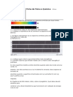 ficha espetros+efeito fotoeletrico