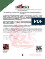 Guía Final Fantasy VI (2.0) - Por Godah