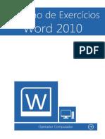 Caderno Exercicios Word 2010