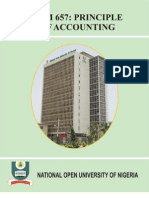 Bhm 657 Principles of Accounting i