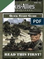 Axis Allies Miniature Quickstart