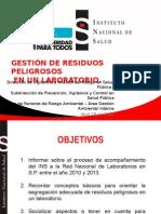 Residuos Peligrosos-Comite Distrital Laboratorios.ppt