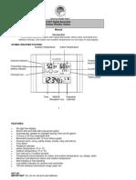 LaCrosse Atomic Clock 512-807-Manual