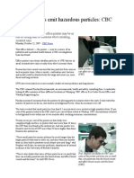 article - cbc news oct 2007 - office printers