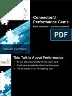 Connector_J Performance Gems Presentation