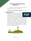 Medicion de Angulo Horizontales y Verticales