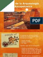 Historia de Arqueología en Azcapotzalco