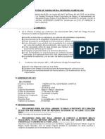 Declaración Testigo Caso 750 - 2014